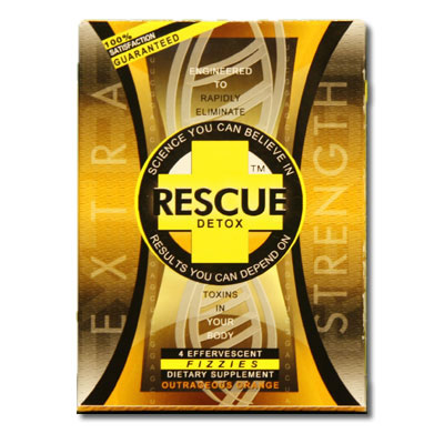 RESCUE DETOX SUPER CLEAN FIZZY TABLETS - Moderate Users!